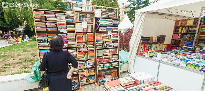 Perusing Bookstore