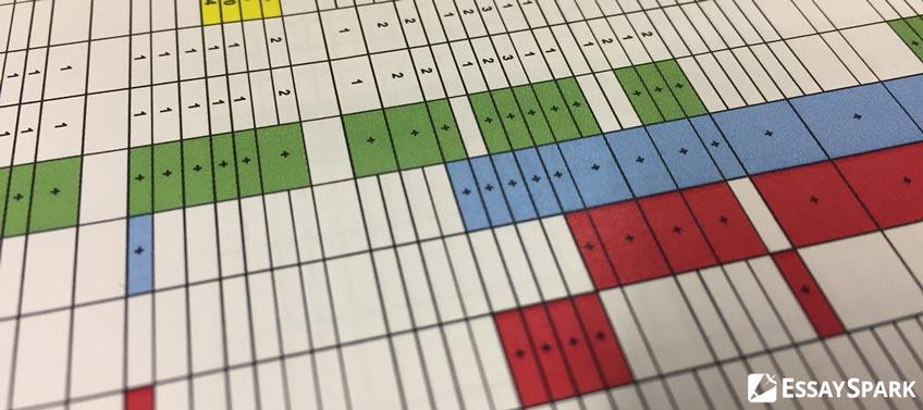 Study Calendar in Excel